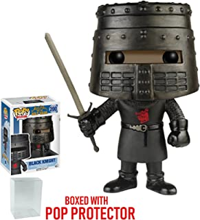 Funko Pop! Movies: Monty Python and the Holy Grail - Black Knight Vinyl Figure (Bundled with Pop BOX PROTECTOR CASE)