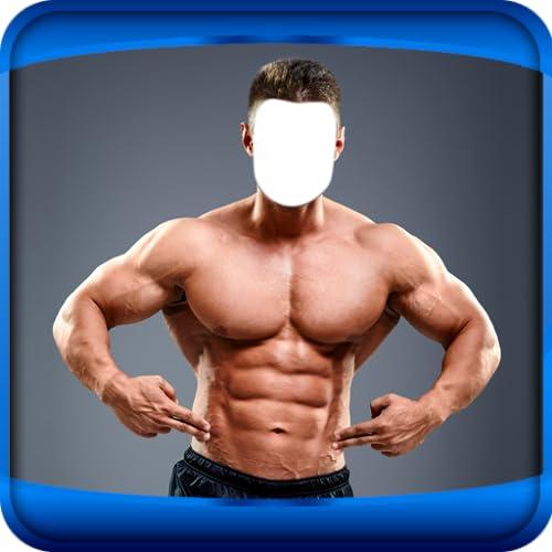 Man Bodybuilder-Foto-Montage