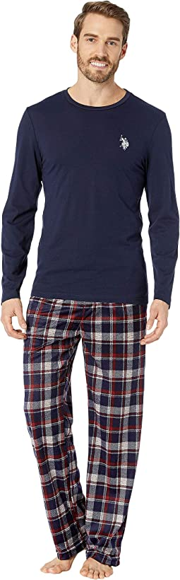 Long Sleeve Tee & Luxe Fleece Pants Gift Set
