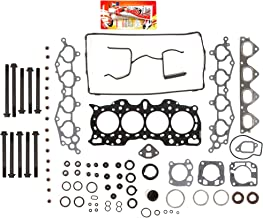 Fits 90-01 Acura Integra LS RS GS 1.8 B18A B18B DOHC Head Gasket Set Head Bolts