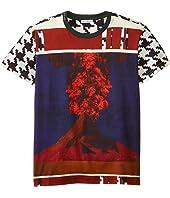 Dolce & Gabbana Kids - Volcano Print Short Sleeve T-Shirt (Big Kids)