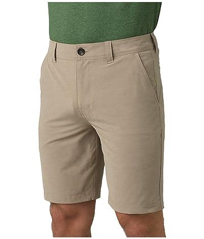 Prana Rotham Shorts (Dark Khaki) Men