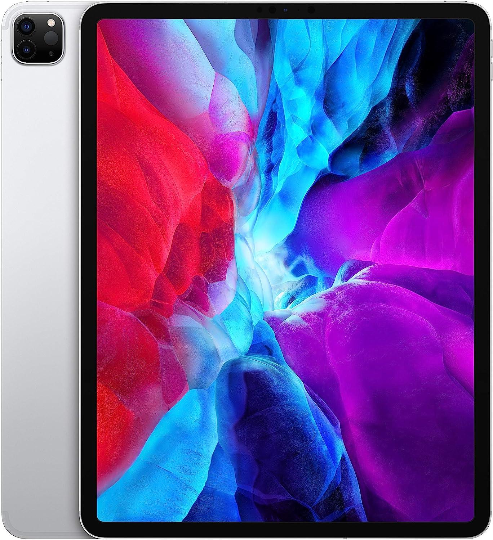 2020 Apple iPad Pro (12.9-inch, Wi-Fi + Cellular, 1TB) - Silver (4th Generation)