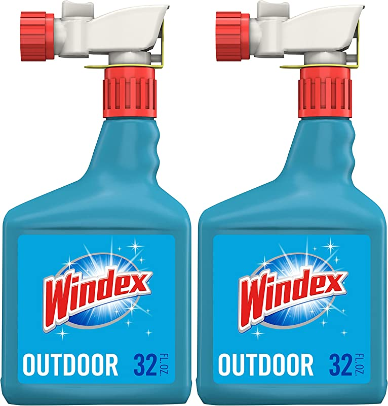 Windex Outdoor Glass Patio Concentrated Cleaner 2 Ct 32 Fl Oz