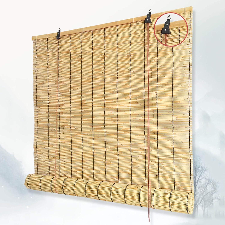 Natural Reed Roller Blinds Roman Roll 値下げ 販売実績No.1 Outdoor Bamboo R Up Shades