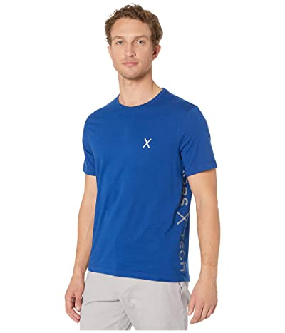 Michael Kors Long Logo Tee (Twilight Blue) Men