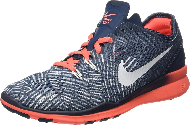 Nike Damen Free 5.0 Tr Fit 5 PRT Leichtathletikschuhe, (Squad Blau Weiß Helles Mango-Blau Grau 406), 36.5 EU B010RSEAB4  Förderung