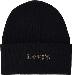 Levi's Women's Women's Modern Vintage Logo Beanie - Holiday Expression Beanie Hat