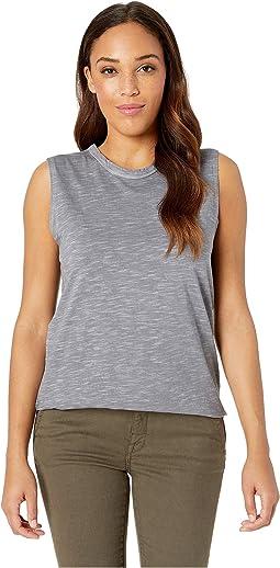 Inside Out Slub Sleeveless T-Shirt