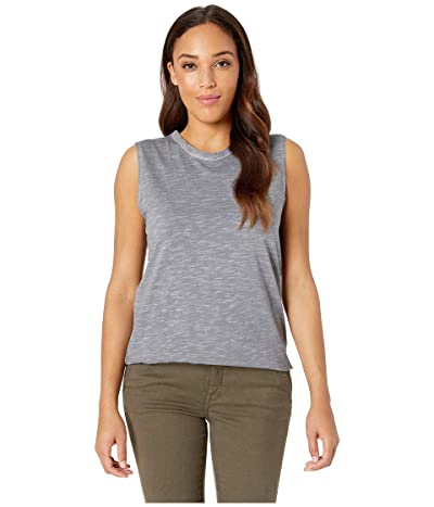 Alternative Inside Out Slub Sleeveless T-Shirt (Elephant Grey Pigment) Women