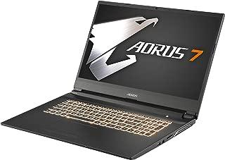 GIGABYTE AORUS 7ゲーミングノートパソコン・All Intel Inside /17.3インチ/ 6mm狭額縁/ i7-9750H/Samsung メモリ採用/インテル 760P SSD/1TB HDD/Win10/ (144HZ | GTX1650 | i7-9750H | 8G*1 |256G SSD)