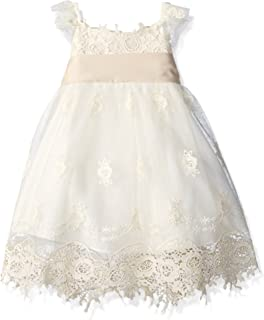 Biscotti Baby Girls Feeling Fancy Empire Waist Dress