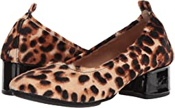 Natural Leopard Print Calf Hair