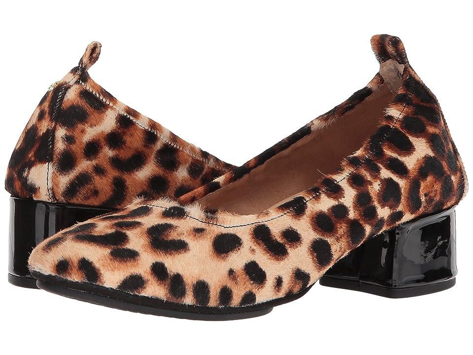 Yosi Samra Nadia (Natural Leopard Print Calf Hair) Women