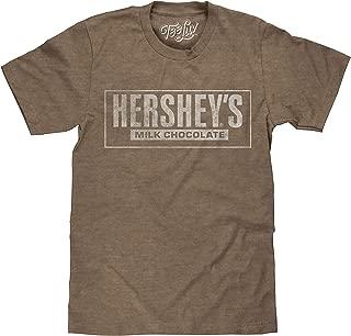 Tee Luv Hershey's T-Shirt - Hersheys Milk Chocolate Logo Shirt
