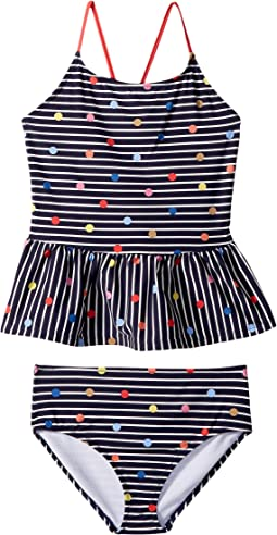 Joules Kids - Two-Piece Printed Swimsuit (Toddler/Little Kids/Big Kids)
