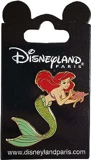 Disneyland Paris Pin - The Little Mermaid - Ariel with Flower
