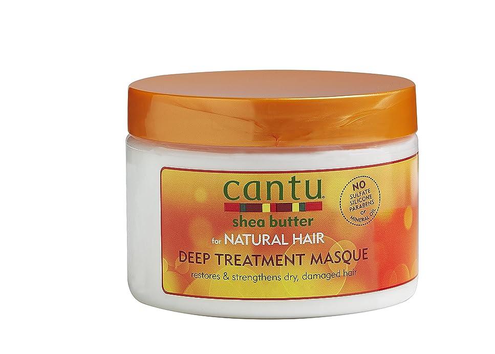 やけど物理快いCantu Shea Butter Natural Deep Masque 12 oz. by Cantu