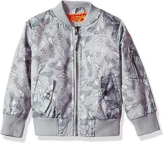 Boys' Toddler Printed Flight Jacket