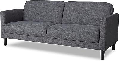 Amazon.com: Scott Apartment Size Sofa, Chicago Blue, 56