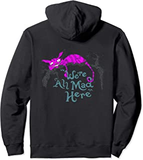 We're All Mad Here - Cheshire Cat Pullover Hoodie