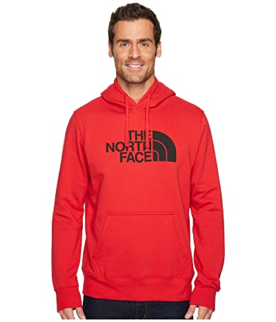 The North Face Half Dome Pullover Hoodie (TNF Red/TNF Black) Men