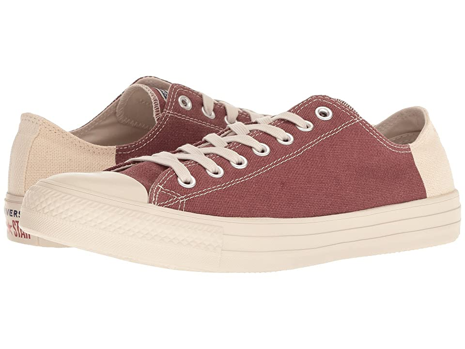 Converse Chuck Taylor(r) All Star(r) Ox Jute Americana (Jute/Navy/Mars Stone) Classic Shoes