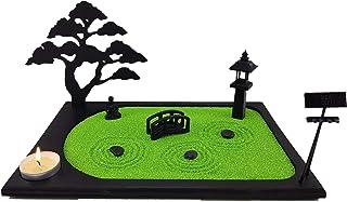 Bonseki® Giardino Zen da tavolo in miniatura personalizzabile 30x20 cm. 3 elementi e bonsai in legno. Scopri le opzioni!