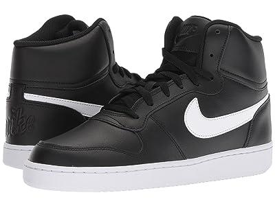 Nike Ebernon Mid (Black/White) Men