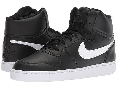 Ebernon Nike Whitewhite Mediados Negro lanzamiento Nuevo Blanco vq0Cw40x