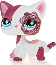 Marsrut Pet Shop Action Figure Animal Cartoon Pink Cat || Collection Littlest Cute Toy for Kids Child Girl || Metal Gift Box