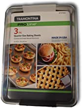Tramontina PROLINE 3 Pack Baking Sheets (13x9.5in) Commercial Quality- Restaurant Grade