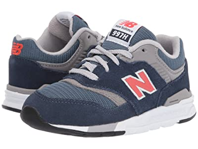 New Balance Kids 997H Essentials (Infant/Toddler) (Natural Indigo/Neo Flame) Boys Shoes