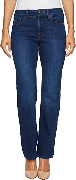 Petite Marilyn Straight Jeans in Cooper