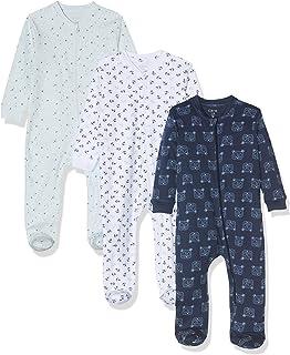 Care Amazon Exklusiv: Care Baby Strampler mit Zip im 3er Pack