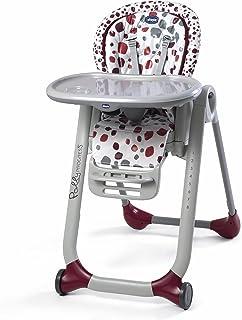 comprar comparacion Chicco Polly Progres5 - Trona evolutiva, de hamaca a elevador, 4 ruedas, de 0 a 3 años, rojo