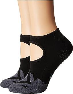 Studio II Super No Show Socks 2-Pack