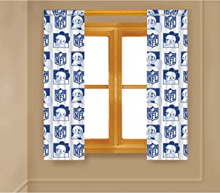 nfl dallas cowboys curtains