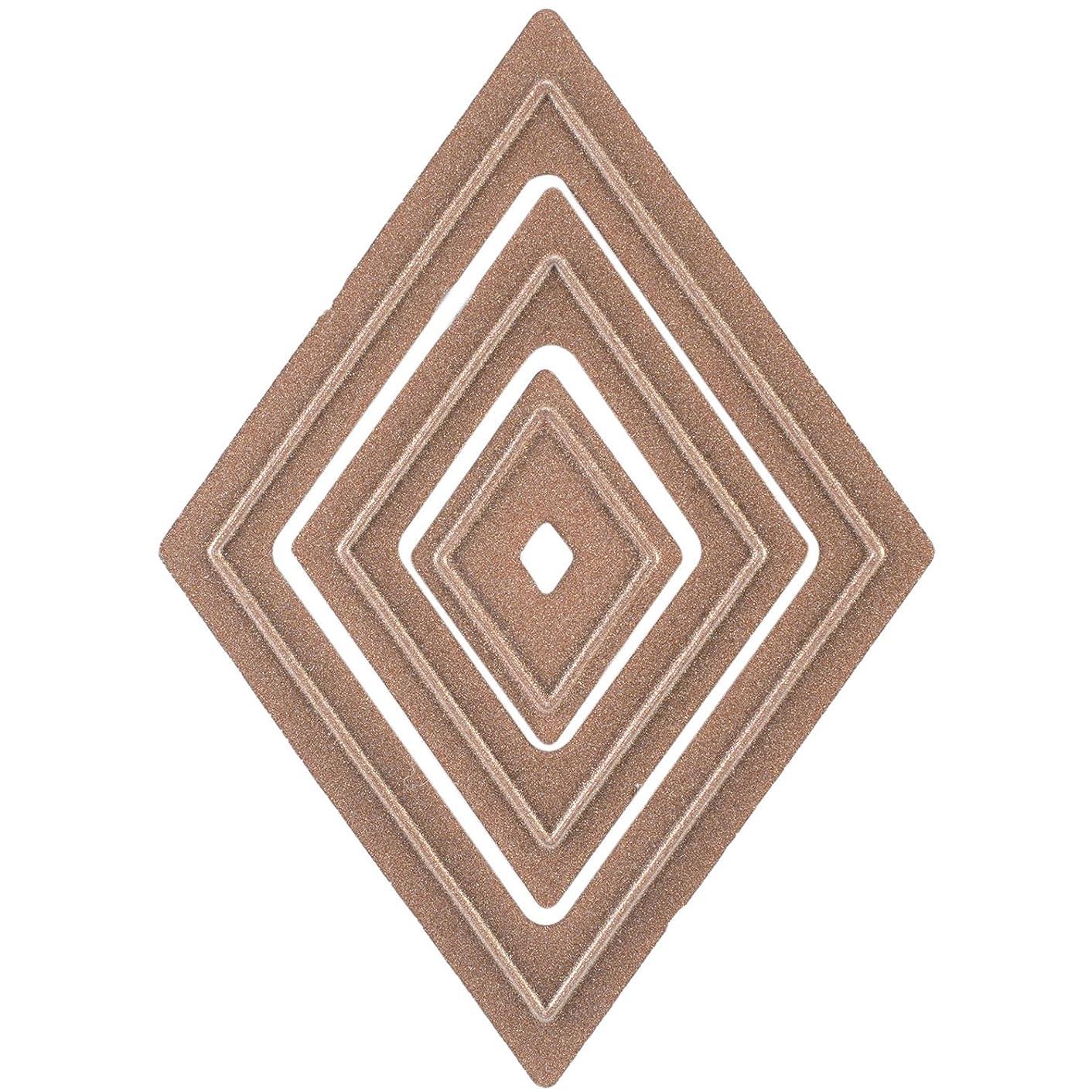 Spellbinders MD1-014 Media Mixage Diamonds One Die Template