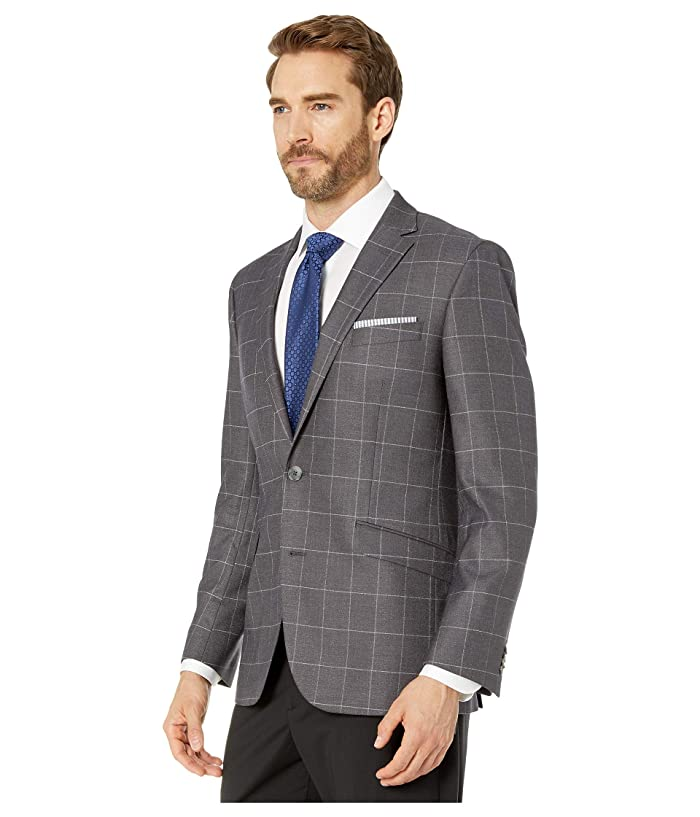Kenneth Cole Reaction Kcr Slim Fit Stretch Blazer - Ropa Abrigos & Exterior