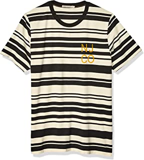 Nudie Jeans Unisex-Adult Roy Barcode Short Sleeve T-Shirt - Multi