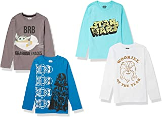 Spotted Zebra Niño Disney Star Wars Marvel Camisetas de manga larga
