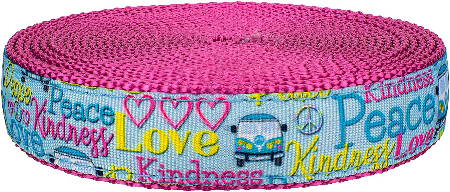 Country Brook Design - Love and Webbi Nylon OFFicial site Peace Rose Ribbon security on