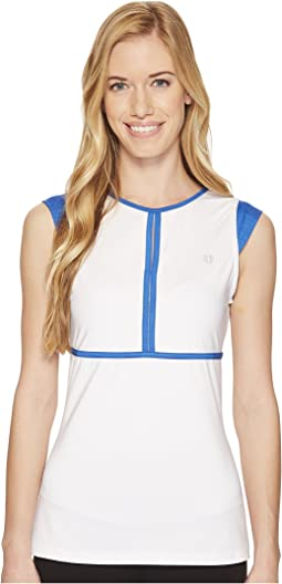 Eleven by Venus Williams - Aztec Collection Volley Cap Sleeve Top