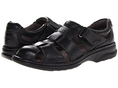 Florsheim Getaway Fisherman Sandal (Black) Men