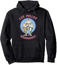Breaking Bad Los Pollos Hermanos Back To Back Portrait Logo Pullover Hoodie