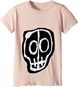 Nununu - Skull Mask Patch T-Shirt (Infant/Toddler/Little Kids)