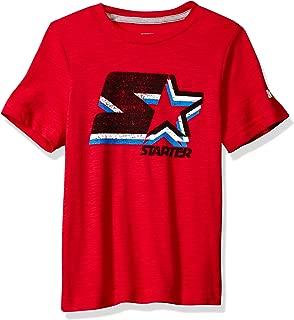 Boys' Short Sleeve Faded Logo T-Shirt, Amazon Exclusive