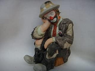 Flambro Clown Collection Porcelain Vintage Figurine 3.5
