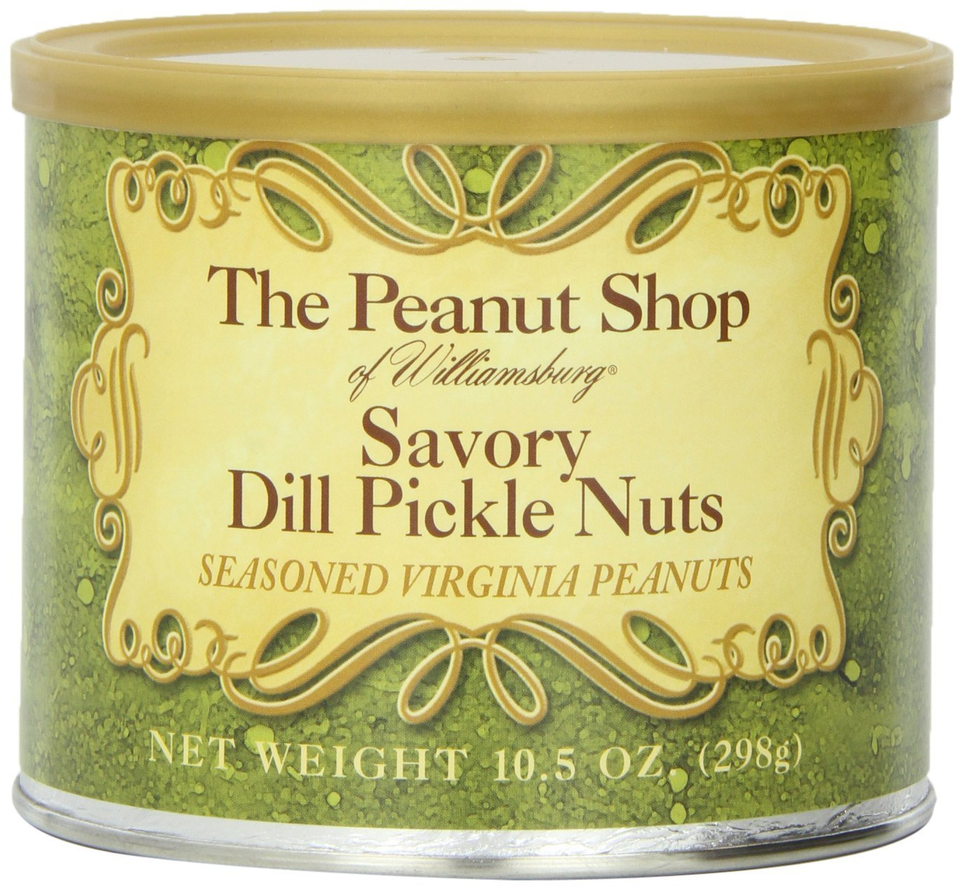 The Peanut Shop Max 73% OFF of Williamsburg Nuts Latest item Pickle Savory Dill 10.5-Ou